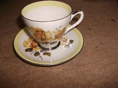 Bone China Cup & Saucer Windsor Pattern Used • 0.99£