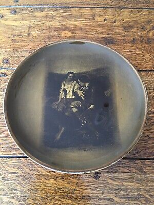Vintage Ridgways Pottery Wall Plate Featuring Robert Burns And Highland Mary • 8.99£