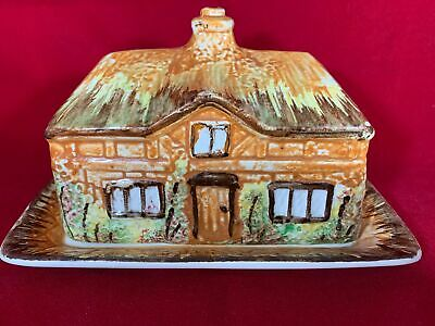 Price Brothers Cottageware Cheese / Butter Dish Excellent Condition, Vintage • 6£