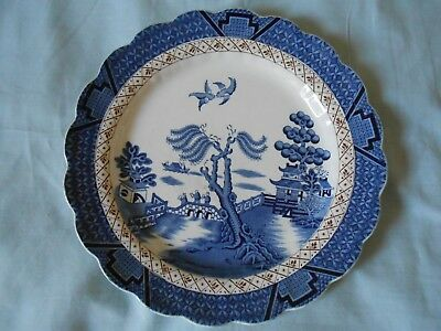 Booths Real Old Willow Large Plate 10.5 Inches • 7£