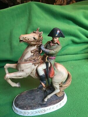 Napoleon Figurine Crossing The  Alps On Horseback 8 Inches Tall Wargames • 9£