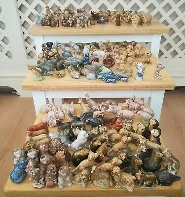 Large Collection Of Vintage Wade Whimsies Animals • 25£