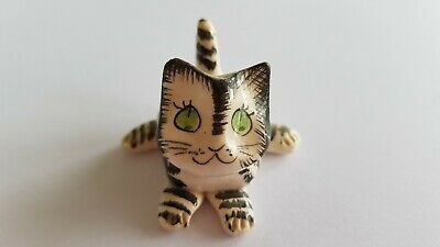 Black And White Stripey Cat Vintage Ornament By Philip Laureston, 1970s  • 0.99£