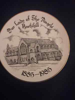 Our Lady Of The Angels Stoke-on-Trent 1885-1985.Commemorative Plate. • 12£