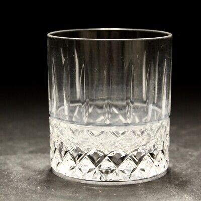 20th Century Edinburgh Glass Whisky Glass Tumbler C1980s • 25£