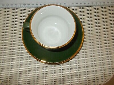 1 X French Porcelain Aplico Coffee Cup And Saucer • 0.99£