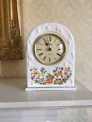 Aynsley Cottage Garden Mantle Clock • 9.95£