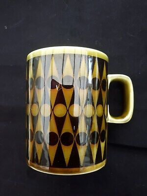 Hornsea Pottery Ceramic Mugwith Geometric Pattern Designed By John Clappison • 5.40£