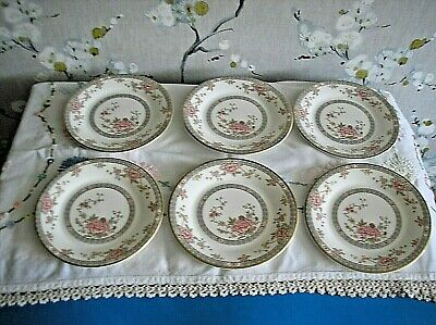 Royal Doulton Canton  6 X Side Plates 6.5 Inches • 15£