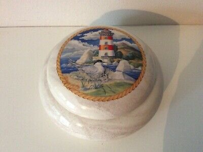 St Helens Ash Ware Bowl With Lid • 4.99£