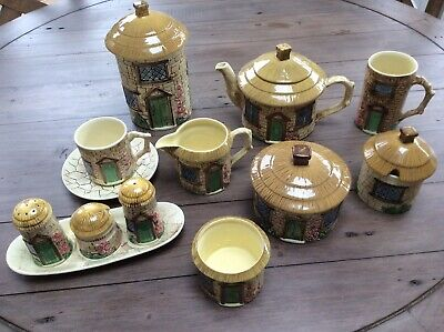 Collection Of Vintage Sylvac Cottage Ware Excellent Condition, No Chips/ Cracks • 60£