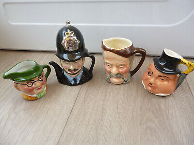 Lot 4 Character/toby Jugs-estate Sale-others Listed • 4.20£