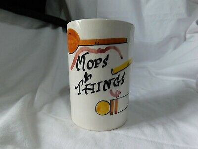 Vintage Mops And Things Pot. Toni Raymond 1960's • 8£
