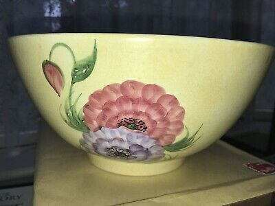 Collectable Radford Pottery England Handpainted  Fruit/salad ? Bowl  Signed • 10£
