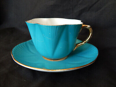 Vintage Bone China Shelley Cabinet Cup And Saucer • 11£