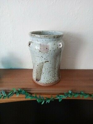 A BEAUTIFUL STUDIO POTTERY VASE By An UNKNOWN ACCOMPLISHED POTTER. • 17.99£