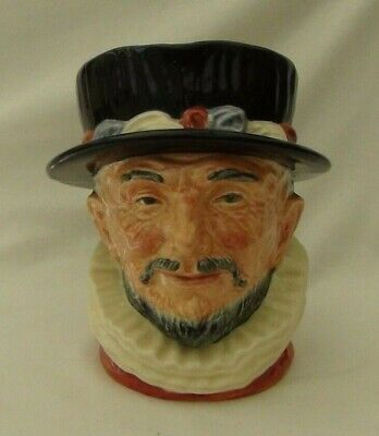 Royal Doulton   Beefeater   Large Character Jug D6206 - Er Handle • 24.95£