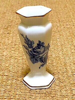 Small Vintage Hammersley Blue And White Classical Shape Vase. Lovely. • 9.99£