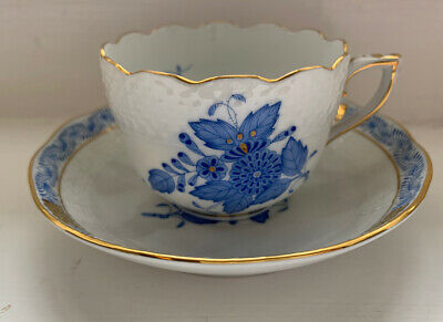 HEREND Hungary CUP AND SAUCER • 70£