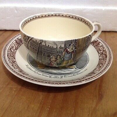 Adams Cries Of London Cup And Saucer • 2.99£