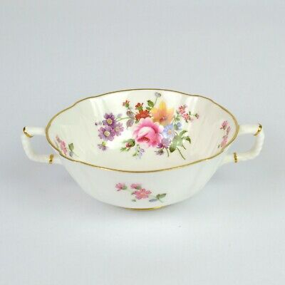 Royal Crown Derby Derby Posies Handled Soup Coupe Bowl • 12.99£