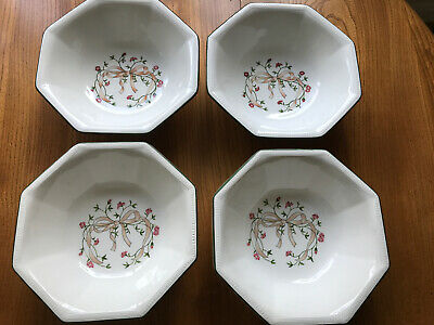 Johnson Brothers Eternal Beau Soup Cereal Bowls - Set Of 4 - Used • 4£