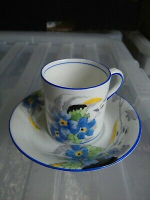 Sutherland China Coffee Can Cup And Saucer • 3£