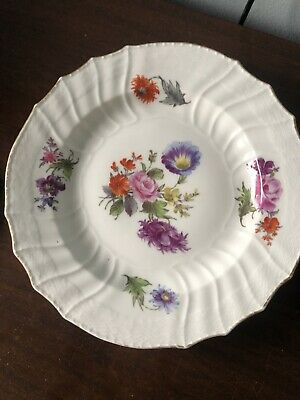 Kpm Berlin Hand Painted Porcelain Plate Early Marks • 175£