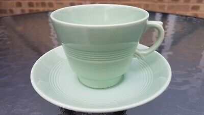 1x Woods Ware Beryl ( Larger Type) Cup And Saucer. • 5.99£