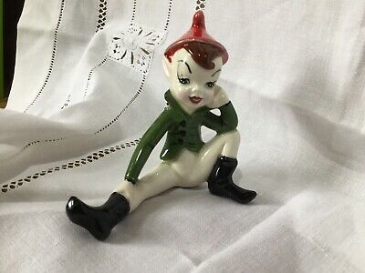 Lovely Little Vintage Figure Of A Lepruchaun - Signed & Made In Ireland • 10.40£