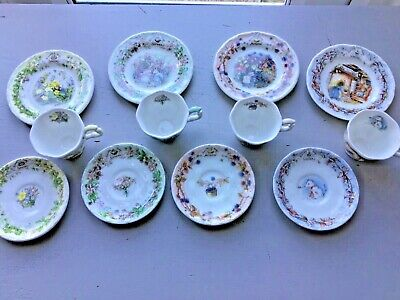 Brambly Hedge Miniature Tea-set Boxed • 110£