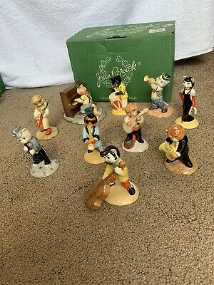 Beswick Cats Chorus Band Complete Set Of 10 - All Boxed • 100£