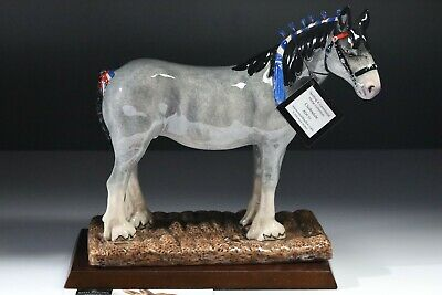 ROYAL DOULTON HORSE PONY CLYDESDALE No. RDA 55 PERFECT • 45£