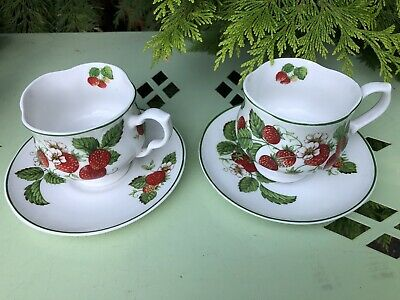 Roy Kikham Wild Strawberry Cup And  Saucer • 19£