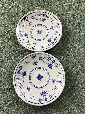 Furnivals Denmark Blue  Saucer For Tea Cup Good Condition 2 Available • 2.70£