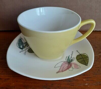 Coffee Cup & Saucer MELODY By Terence Conran 1958 • 9.99£