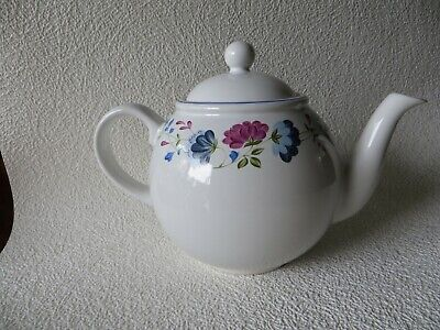 Bhs Priory Tableware Teapot Complete Used But Good Condition No Chips Floral • 3.60£