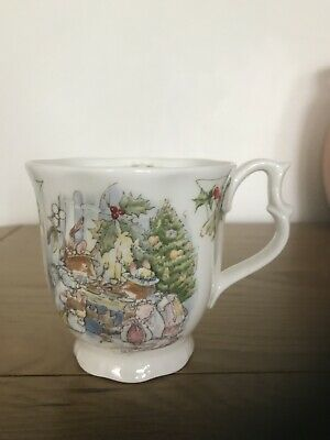 Brambly Hedge Royal Doulton Mug Cup Merry Midwinter Full Size Perfect • 65£