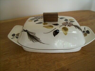 Vintage/Retro Babbacombe Pottery Ltd Butter Dish • 7.50£
