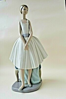 Lladro Nao Figurine  Dance Ballerina, Dance  By Francisco Catala Issued In 1998 • 9.99£