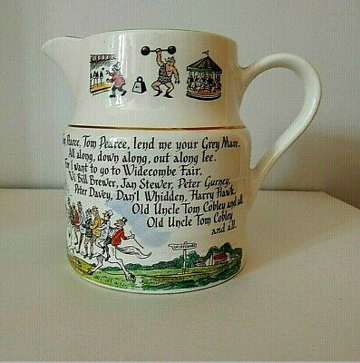 Vintage  Widecombe Fair Jug Uncle Tom Cobley • 18£