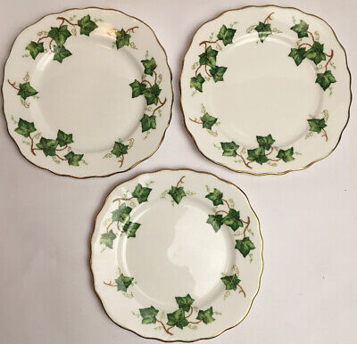Colclough Ivy Leaf Side Plates Bone China Made In England • 23.75£