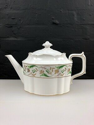 Royal Crown Derby Green Princess A1370 Large Teapot 2nd Quality MMXIII 2013 • 59.99£