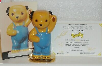 WADE SOOTY GOLD BASE LIMITED EDITION Of 120 Only~CAMTRACK CHILDRENS FAVOURITES   • 175£