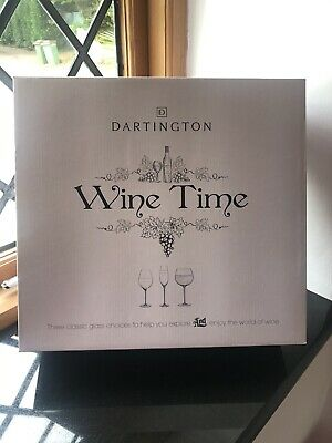 Dartington Wine Tasting Glasses Nib • 19.99£
