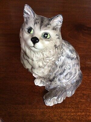 Lovely Vintage Beswick Large Pottery Persian Cat Swiss Roll No.1867 • 65£