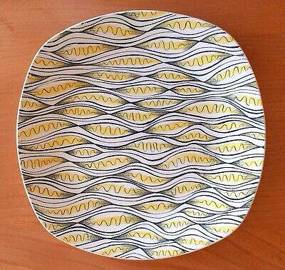 RARE Midwinter 10  Dinner Plate CARIBBEAN By Jessie Tait 1955 • 75£