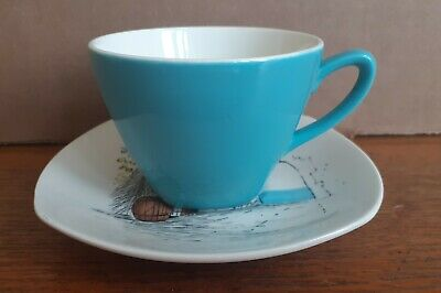 Coffee Cup & Saucer CANNES By Hugh Casson  • 7.99£