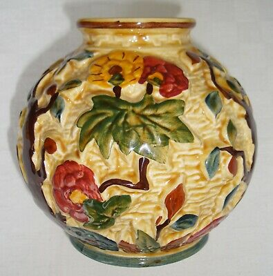H.J Wood 'Indian Tree' Handpainted Bowl – Fine Condition • 20£