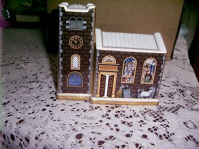 Royal Crown Derby Christmas Church - Ltd Edition. With Certificate • 125£